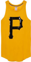 PINK Pittsburgh Pirates Bling Rib Neck Tank