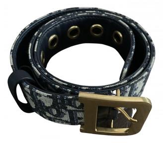 Christian Dior Diorquake Blue Cloth Belts