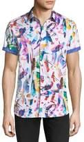 Robert Graham Lerry Woven Multicolor Shirt