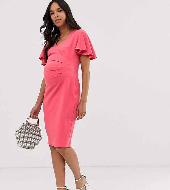 7d0bedc8c5b5c Coral Maternity Dress - ShopStyle