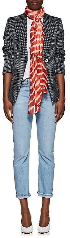 Denis Colomb Women's Silky Cloud Cashmere-Silk Striped Gauze Scarf