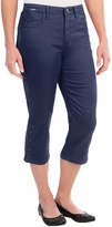 FDJ French Dressing Olivia Silk Touch Denim Capris (For Women)
