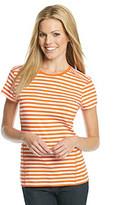 MICHAEL Michael Kors Short Sleeve Stripe Active Top