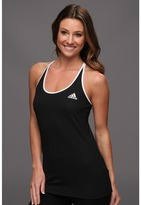adidas Tennis Sequencials Engineered Tank (Black/White) - Apparel