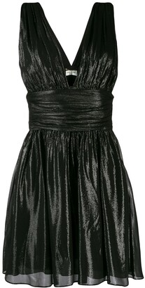 Saint Laurent Flared Short Dress