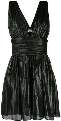 Saint Laurent flared short dress