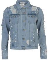 Glamorous Distressed Denim Jacket