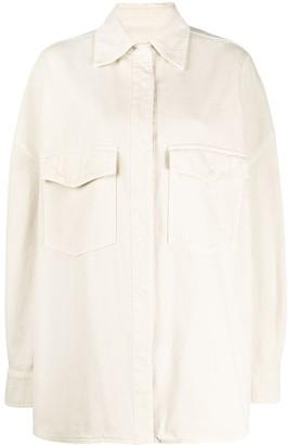 ATTICO Oversized Pocket Shirt
