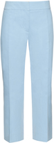 Marni Mid-rise cropped cotton chino trousers