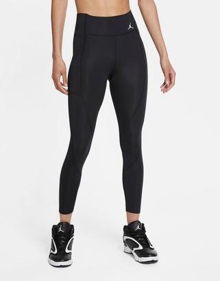 Jordan Nike Jumpman Essentials 7/8 leggings in black