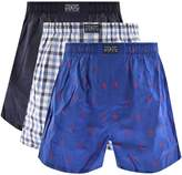 Ralph Lauren Underwear 3 Pack Boxer Navy