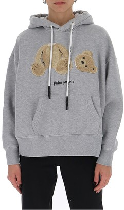 Palm Angels Bear Hooded Sweater