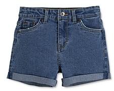 Levi's Girls' Americana High-Waisted Denim Shorts - Big Kid
