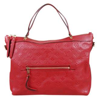 Louis Vuitton Bastille Red Leather Handbag
