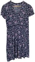 Comptoir des Cotonniers Navy Cotton Dress for Women