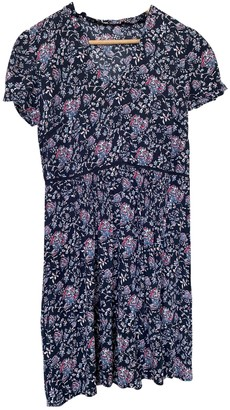Comptoir des Cotonniers Navy Cotton Dress for Women