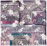 Etro printed scarf - women - Silk/Metallic Fibre - One Size