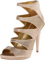 Nine West Amability Women US Size 7.5 Gray Textile Sandals