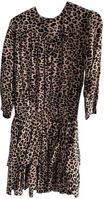 Zadig & Voltaire Spring Summer 2020 Brown Viscose Dresses