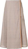 Caramel Kaleidoscope print skirt