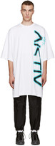 Perks And Mini White Oversized Aktiv T-Shirt
