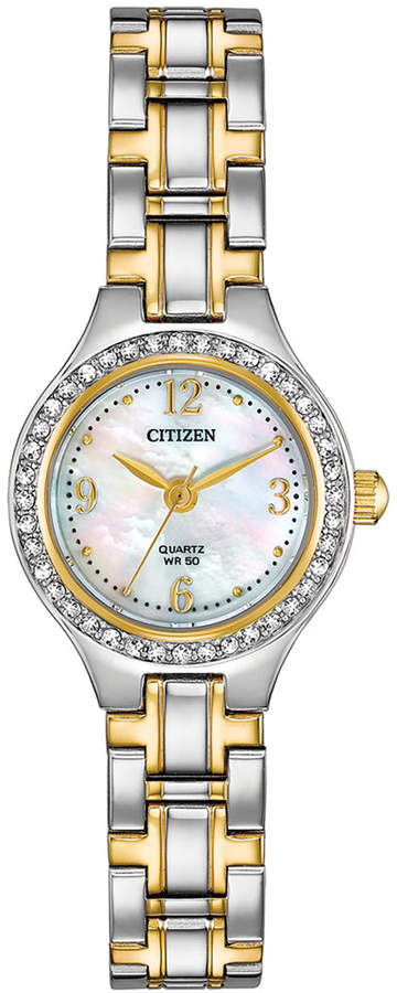 Citizen Women Quartz Two-Tone Stainless Steel Bracelet Watch 22mm
