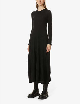 The Row Arabella stretch-cashmere maxi dress