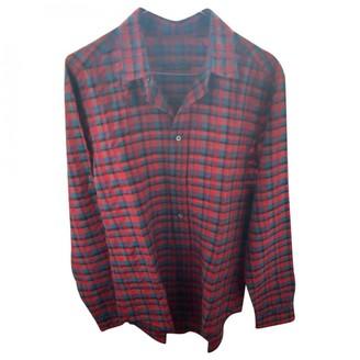 Louis Vuitton Red Silk Shirts