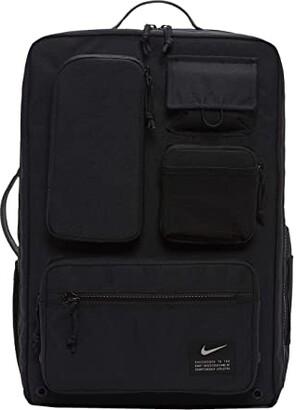 Nike Utility Elite Backpack (Black/Black/Enigma Stone) Backpack Bags