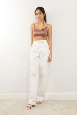 Out From Under Mi Amor Crop Top - Black XS at Urban Outfitters