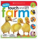 """Scholastic """"Noisy Touch and Lift Farm"""" Board Book"""