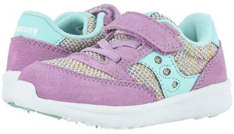 Saucony Kids Originals Jazz Lite (Toddler/Little Kid) (Lilac Rainbow) Girls Shoes
