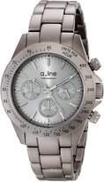 A Line a_line Women's 20050-GR Amore Chronograph Aluminum Watch