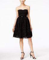 Calvin Klein Strapless Embellished Dress