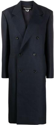 Junya Watanabe Double-Breasted Wool Midi Coat