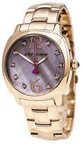 Betsey Johnson Women's BJ00427-03 Analog Display Quartz Rose Gold Watch