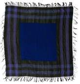 Dries Van Noten Patterned Fringe Scarf