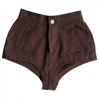 DSQUARED2 Brown Denim - Jeans Shorts for Women