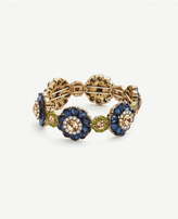 Ann Taylor Floral Stretch Bracelet