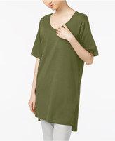 Eileen Fisher Organic Cotton-Blend High-Low Tunic, Regular & Petite