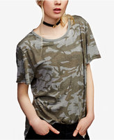 Free People Camo-Print T-Shirt