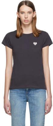 Rag & Bone Grey Heart T-Shirt