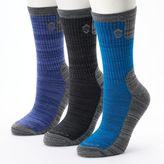 Free Country Women's 3-pk. Marled Wool-Blend Crew Socks