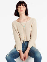 Lucky Brand Scoop Neck Side Slit Sweater