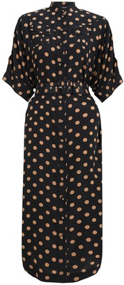 Zimmermann Silk Utility Midi Dress