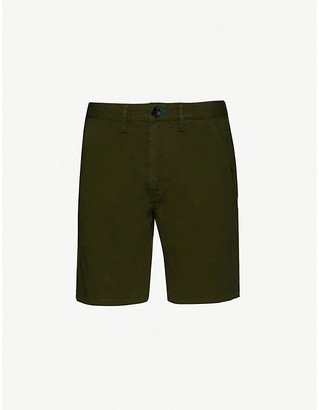 Paul Smith Regular-fit stretch-cotton shorts