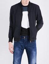 Diesel J-pat cotton-blend bomber jacket