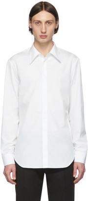 Maison Margiela White Poplin Slim-Fit Shirt