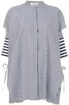 Ports 1961 oversized striped shirt