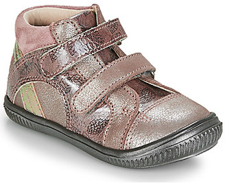 GBB ROXANE girls's Shoes (High-top Trainers) in Pink